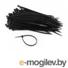 аксессуары для монтажа Стяжки пластиковые Gembird Cablexpert NYT-150x2.5B 100шт Black