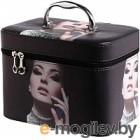 Кейс для косметики MONAMI CX7514-1 (черный)