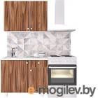 Готовая кухня Горизонт Мебель Point 100 (тьяполо)
