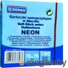 Блок для записей Donau Neon / 7586011-10 (синий неон)