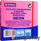 Блок для записей Donau Neon / 7586011-16 (розовый неон)