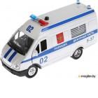 Автомобиль игрушечный Технопарк Газель Полиция / CT-1276-16