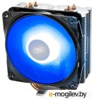 Кулер DEEPCOOL GAMMAXX 400 V2 BLUE LGA1366/115X/AM4/AM3/+/AM2/+/FM2/+/FM1 (20шт/кор, TDP 180Вт, PWM, Blue Led Fan 120mm, 4 тепл. трубки прямого контакта ) RET