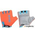 Перчатки велосипедные STG AL-03-325 / Х74365 (M, оранжевый/черный)