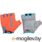 Перчатки велосипедные STG AL-03-325 / Х74365 (S, оранжевый/черный)
