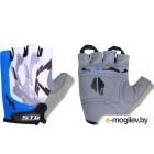 Перчатки велосипедные STG Х61877 (M, синий)