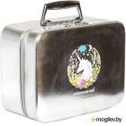 Кейс для косметики MONAMI CX7518-2 (серебристый)