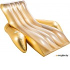 Надувной матрас для плавания Intex Shimmering Gold Lounge / 56803