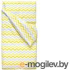 Комплект постельного белья Martoo Comfy B / CMB-P-3-YGZ (желто-серый зигзаг)