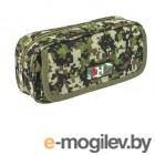 Пеналы Brauberg Military 210x50x90mm Green 228990