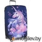 Аксессуары для чемоданов Чехол для чемодана RATEL Animal размер M Unicorn
