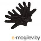 Перчатки одноразовые ТПЭ T-Max неопудренные 100 пар (200шт) размер M Black 1156140