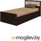 Односпальная кровать Ricco Фиеста 90x200 (венге/дуб атланта)