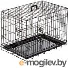 Клетка для животных Duvo Plus Pet Kennel Medium 780/481/DV (черный)