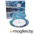 Ваза-этажерка Белбогемия Ван Гог. Цветущий миндаль RN10098-Z042 / 86245