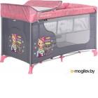 Кровать-манеж Lorelli Moonlight 2 Pink Travelling (10080412046)