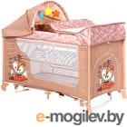 Кровать-манеж Lorelli Moonlight Rocker Beige Foxy (10080422042)