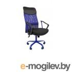 Офисное кресло Chairman 610 Россия 15-21 черный + TW синий