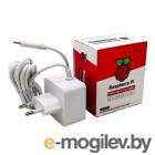 Блок питания Raspberry Pi 4 Model B   Official Power Supply Retail, White, 5.1V, 3A, Cable 1.5 m, USB Type С output jack,  для Raspberry Pi 4 B (187-3413)(187-3421)
