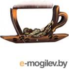 Копилка Kopilki Кофейная чашка / КЕ-02 (коричневый)