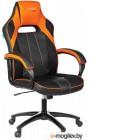 Кресло Бюрократ Viking 2 Aero (черный/оранжевый)