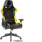 Кресло Бюрократ Viking 5 Aero (черный/желтый)