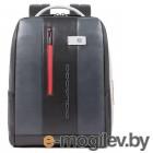 Рюкзак мужской Piquadro Urban CA4818UB00/GRN серый/черный натур.кожа