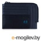 Чехол для кредитных карт Piquadro Pulse PU1243P15S/BLU2 синий натур.кожа