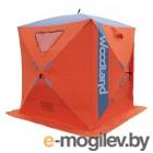 Палатка зимняя WOODLAND ICE FISH 2, 165х165х185 см (оранжевый) NEW