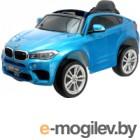 Детский автомобиль Sima-Land BMW X6M / 4351825 (синий глянец)
