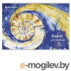 Альбомы, краски, кисти Альбом для рисования Brauberg Эко Бесконечность 202x285mm А4 40 листов 105087