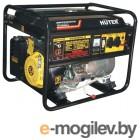 Huter DY6500LXA электростартер