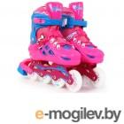 Роликовые коньки Start Up Top р.M 35-38 Pink 360 348