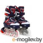 Роликовые коньки Start Up Laser р.S 31-34 Blue 360 343