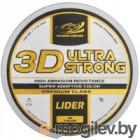 Леска монофильная Fishing Empire Lider 3D Ultra Strong 0.16мм 100м / 3D-016
