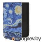 Аксессуары для книг Чехол BookCase для Pocketbook 740 Print Starry Sky BC-PB740-SF-SKY
