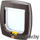 Откидная дверца для животных Ferplast Swing 1 Super Basic / 72101012 (коричневый)