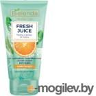 Скраб для лица Bielenda Fresh Juice апельсин увлажняющий сахарный (150г)