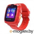 Умные часы детские Elari KidPhone 4G / KP-4G (красный)