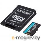 Карта памяти Kingston 64GB microSDXC Canvas Go Plus 170R A2 U3 V30 Card + ADP EAN: 740617301045