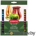 Набор масляной пастели Derwent Academy Oil Pastel / 2301953 (24шт)