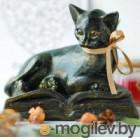 Статуэтка Нашы майстры Кот на книге / 3038 (декорированная)
