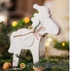 Статуэтка Нашы майстры Рождственская лошадка / 9013 (белый)