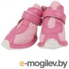 Кеды для собак Puppia Baby / PAMD-SH067-BP-XS (розовый)