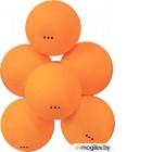 Настольный теннис Мячи для настольного тенниса Atemi 3 6шт Orange ATB301