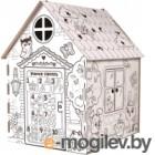 Сборная игрушка Zabiaka Мой домик. Раскраска / 4062599