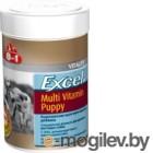 Кормовая добавка для животных 8in1 Excel Multi Vit-Puppy / 108634/660433 (100таб)