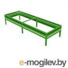 Комфорт на даче Московская усиленная оцинкованная с полимерным покрытием добор 2m x 22cm Green 00120Z