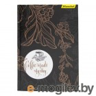 Блокнот Silwerhof 732062-55 A5 обложка картон 80л клетка твердая обложка прошитый