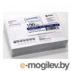 Конверт Бюрократ 204.100 C6 114x162мм Куда-Кому белый силиконовая лента 80г/м2 (pack:100pcs)